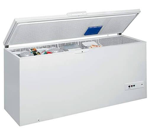 Arcón Congelador de 454L Whirlpool Blanco