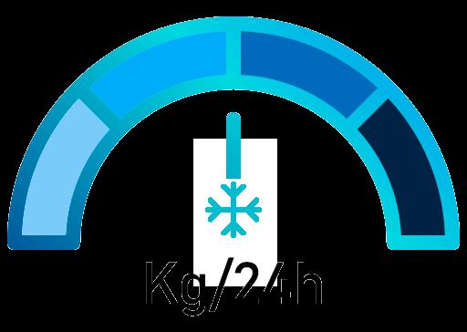 Capacidad de congelación de los arcones congeladores