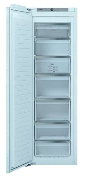 Congelador Vertical Integrable No Frost Acero