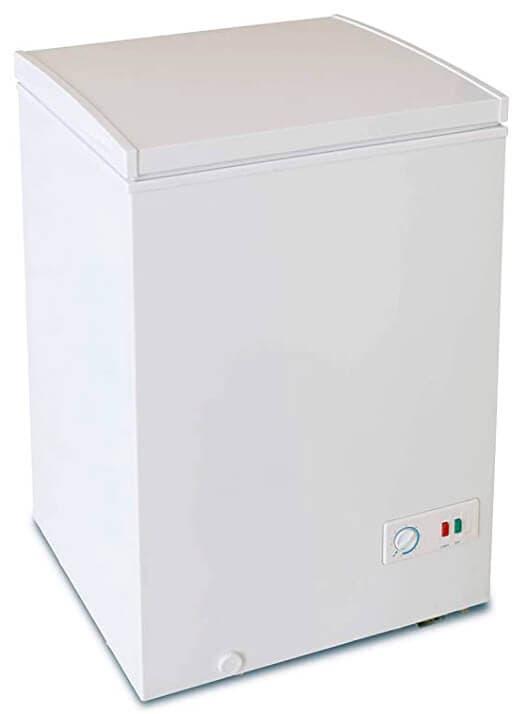 Arcón congelador pequeño horizontal de la marca Infiniton