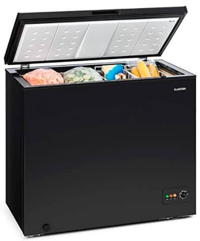 Arcón congelador de una capacidad de 200 Litros de la marca Klarstein