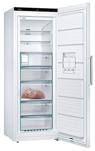Congelador vertical de 400 litros de la marca alemana Bosch