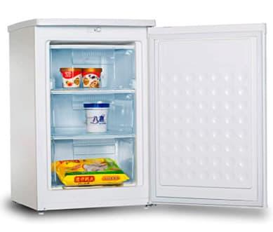 Congelador vertical barato de la marca Infiniton