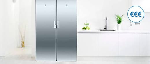 Los congeladores no frost son más caros de media