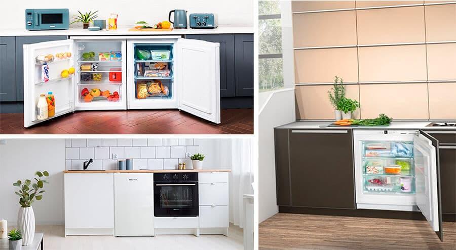 Ideas para colocar tu arcón congelador en la cocina