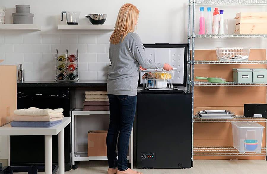 Encontrar espacio para poner el congelador