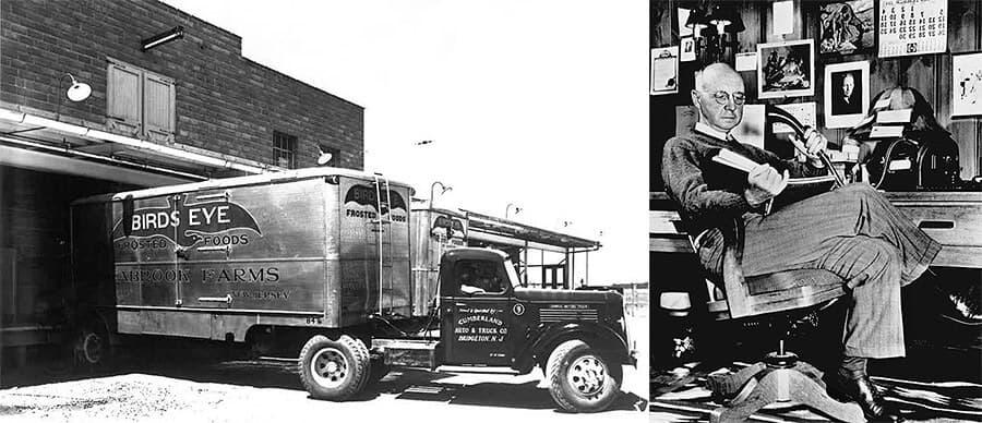 Clarence Birdseye, padre del congelador moderno