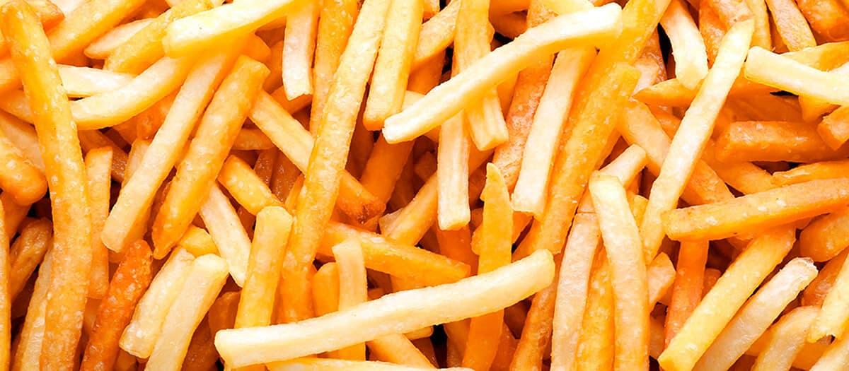 Cómo congelar y conservar patatas fritas