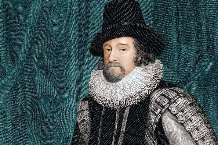 Según la leyenda, Francis Bacon murió de una pulmonía, tras intentar congelar un pollo