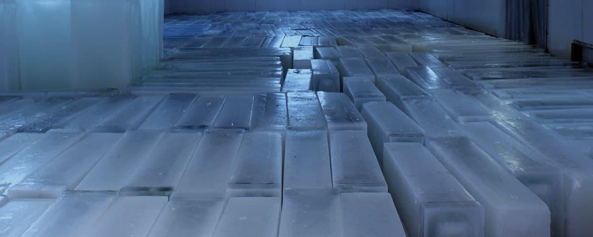 Hielo, historia del congelador