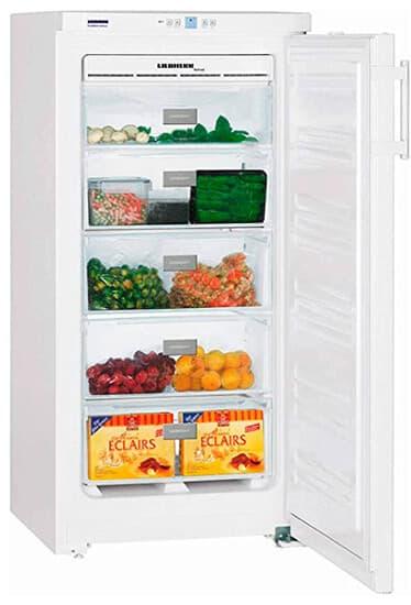 Congelador vertical de 149 litros nofrost Liebherr