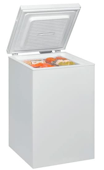 Whirlpool WHS1021 congelador pequeño horizontal