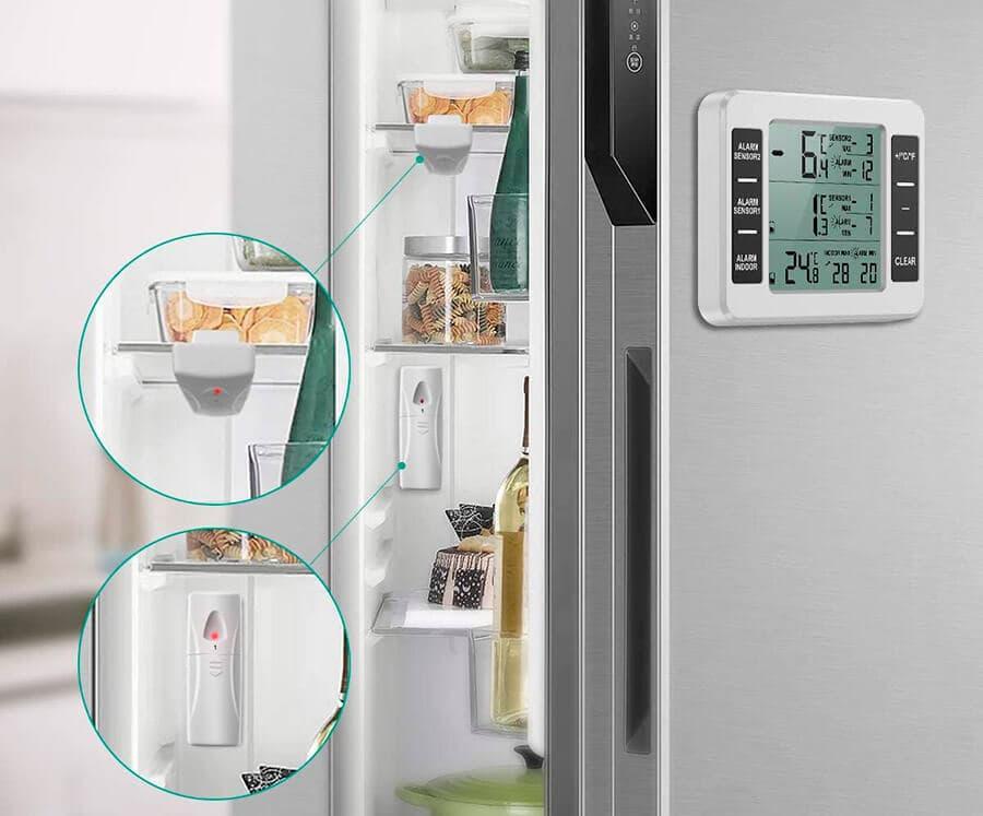 Termómetros para congeladores