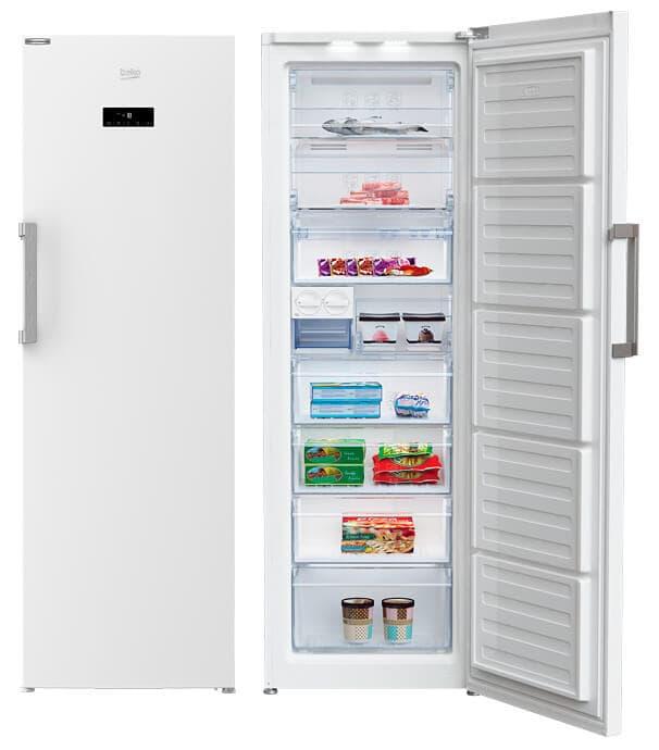 Congelador Vertical Beko Blanco
