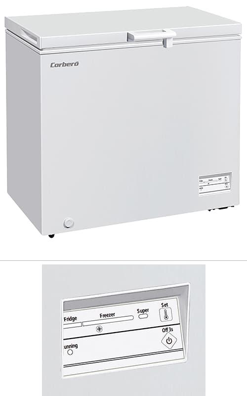 Arcón horizontal Corberó Dual System