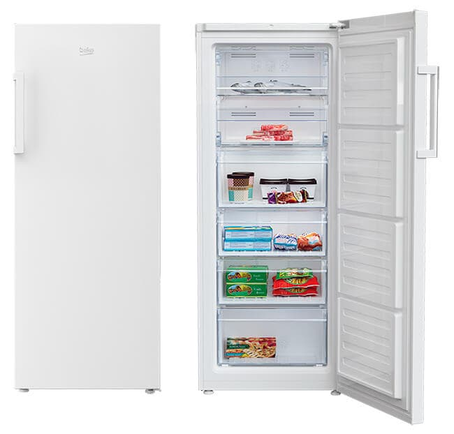 Congelador Vertical Beko RFNE270K31WN