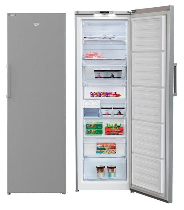 Congelador Inoxidable Beko RFNE312I31XBN