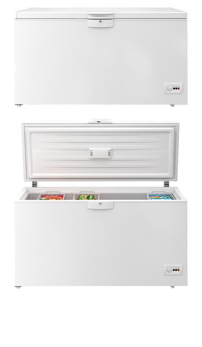 Arcón congelador HSA47530N Beko