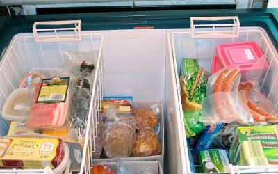 La mejor forma de organizar tu arcón congelador horizontal