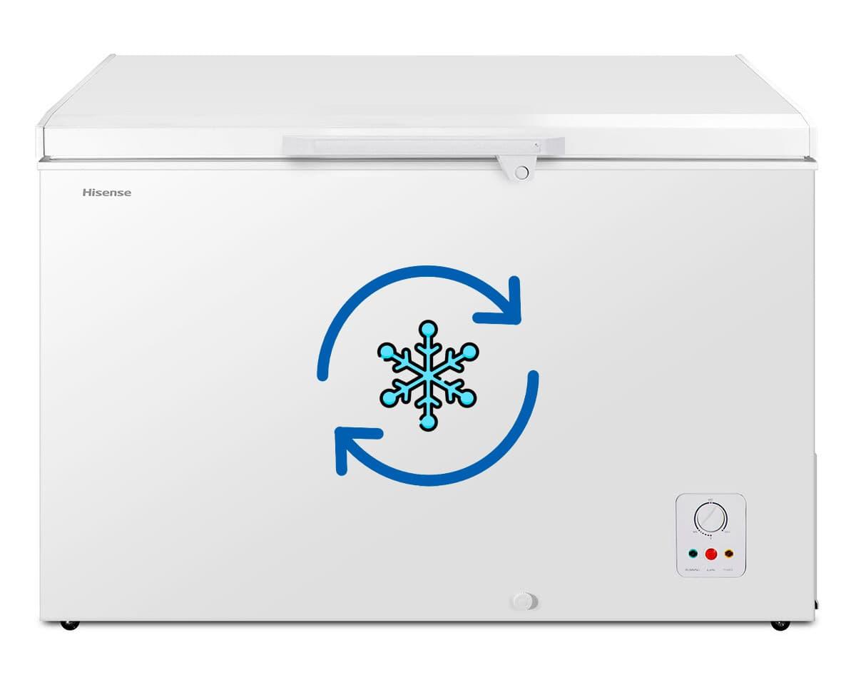 Convertir un congelador en frigorífico