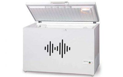 Ejemplos comparativos de niveles de ruido (incluyendo un congelador)