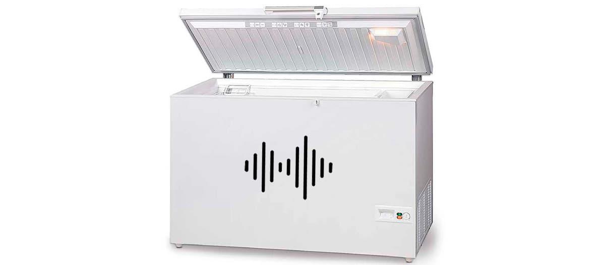 Nivel de ruido de un congelador