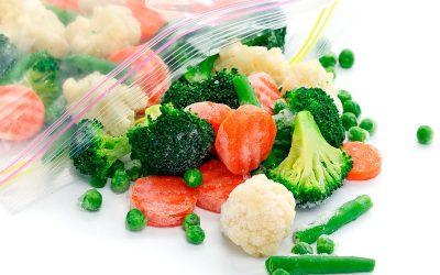 ¿Pierden las verduras sus propiedades al congelarse?