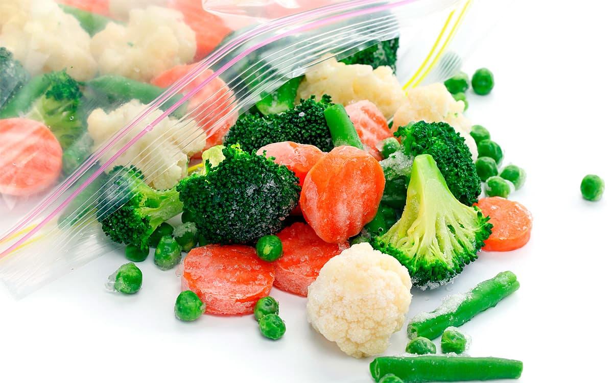 ¿Cuando se congelan las verduras pierden sus propiedades nutricionales?